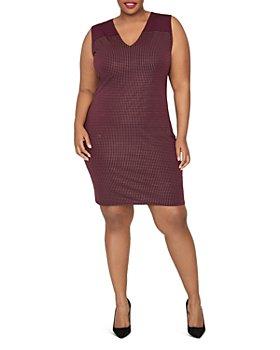 Rachel Roy Plus - Callie Sleeveless V-Neck Dress