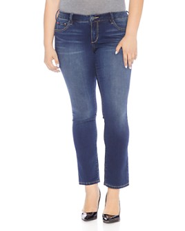 SLINK Jeans Plus - Straight-Leg Jeans in Amber
