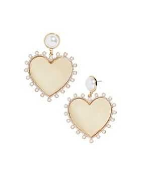 BAUBLEBAR - Amalia Heart Drop Earrings