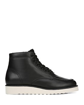 Vince - Women's Finley-2 Leather Lace-Up Booties
