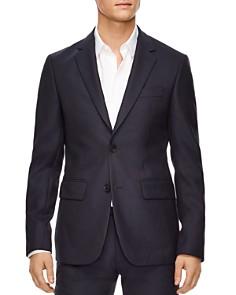 Sandro - Hopsack Wool Slim Fit Sport Coat