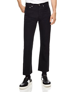 Sandro - Straight-Leg Ankle-Length Jeans in Black