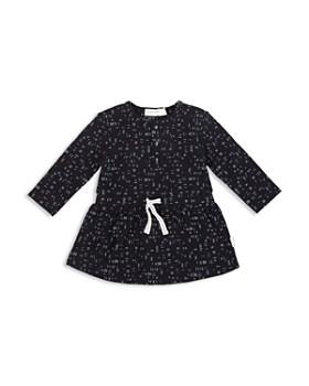 Miles Baby - Girls' Printed Jersey Shirt Dress - Baby