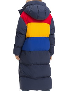 Tommy Jeans - Oversized Color-Block Puffer Coat