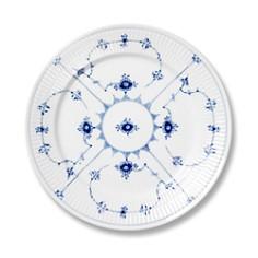 """Royal Copenhagen - """"Blue Fluted Plain"""" Bread & Butter Plate"""