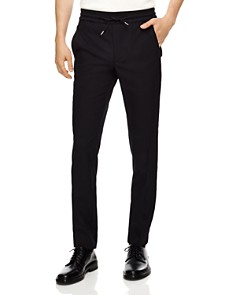Sandro - New Alpha Hopsack Virgin Wool Drawstring Pants