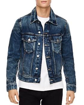Sandro - America Destroy Denim Jacket