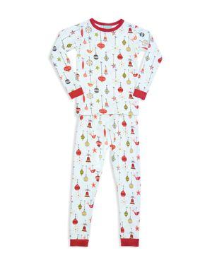 BedHead Unisex Printed Holiday Pajama Shirt & Pants Set - Big Kid