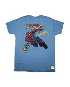 Retro Brand - Boys' Spiderman Tee - Little Kid, Big Kid