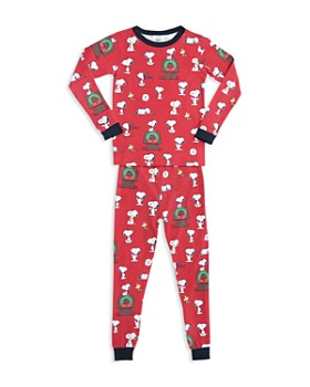 BedHead - Unisex Printed Holiday Pajama Shirt & Pants Set - Little Kid, Big Kid