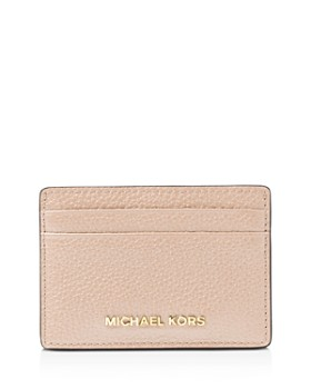 5253b289b523 MICHAEL Michael Kors - Money Pieces Leather Card Case ...