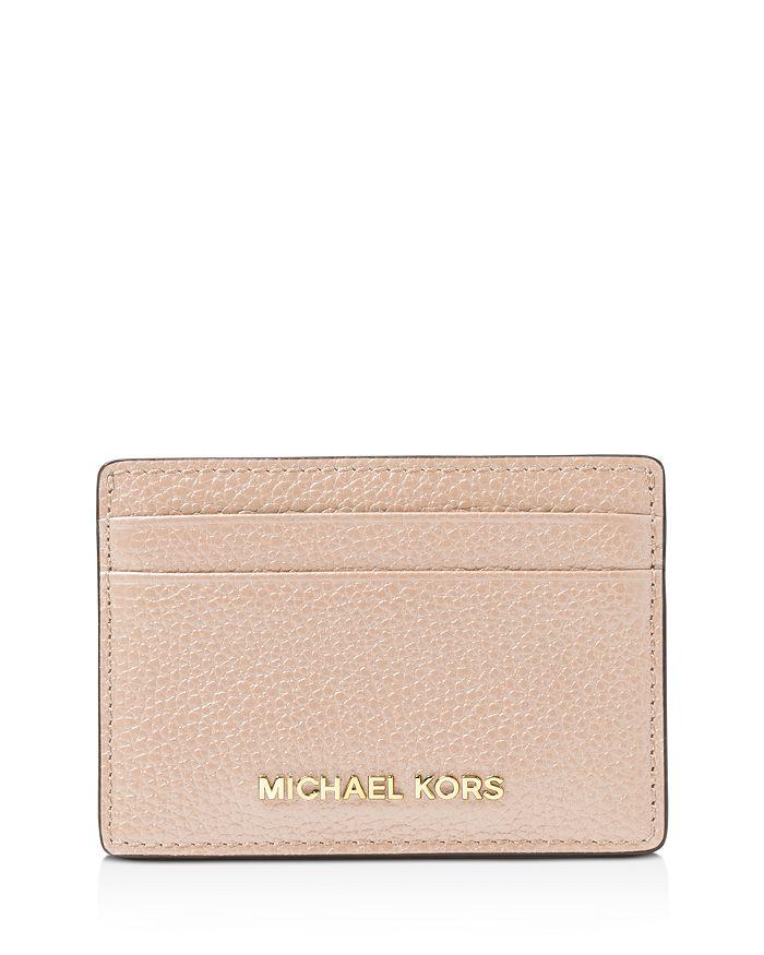 2855a8cef8e8 MICHAEL Michael Kors - Money Pieces Leather Card Case