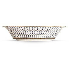 "Wedgwood ""Renaissance Gold"" Oval Server Dish - Bloomingdale's Registry_0"
