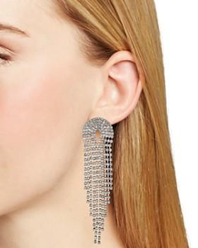 AQUA - Circle Dangle Drop Earrings - 100% Exclusive
