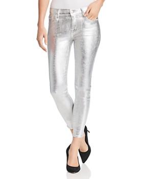 J Brand - 835 Crop Skinny Jeans in Supermoon Cristalline