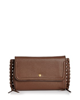 Annabel Ingall - Emma Oversize Whipstitch Leather Clutch ... 14aefd81c2838