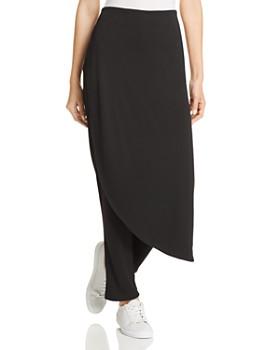 Donna Karan - Asymmetric Overlay Pants