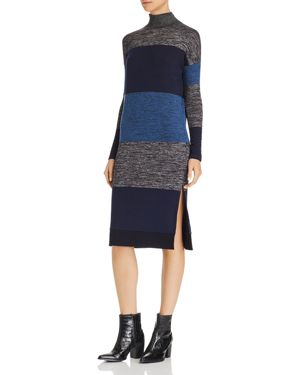 rag & bone/Jean Bowery Striped Turtleneck Dress