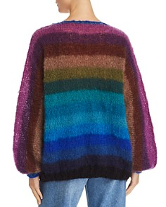Rose Carmine - Rainbow Stripe Sweater - 100% Exclusive