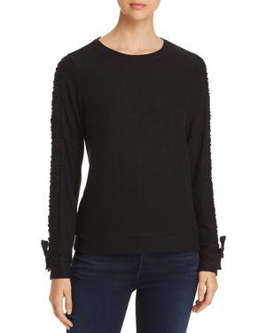 Marc New York Performance Hachi Drawstring Sleeve Sweatshirt