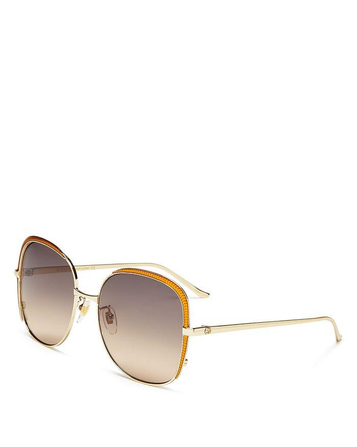Gucci - Women's Oversized Square Sunglasses, 58mm