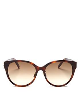 55a444bf4121 Saint Laurent - Women's Round Sunglasses, ...