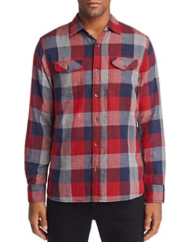 Flag & Anthem - Benton Double-Faced Plaid Regular Fit Shirt