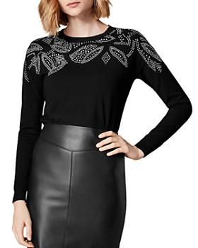 KAREN MILLEN - Studded Sweater