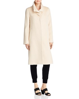 Eileen Fisher - Textured High-Collar Coat