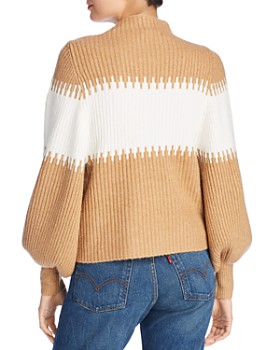 FRENCH CONNECTION - Sofia Oversized Band Stripe Sweater
