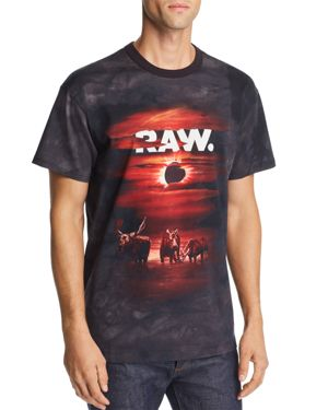 G-star Raw x Jaden Smith Forces Of Nature Eclipse Graphic Loose Fit Tee
