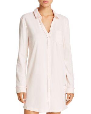 NATURAL SKIN Organic Cotton Sleepshirt in Pearl Pink