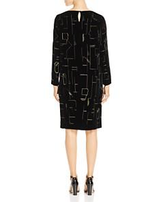 Lafayette 148 New York - Cressida Velvet Shift Dress