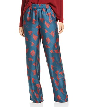 Lafayette 148 New York - Hester Printed Silk Pants