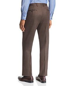 Jack Victor - Flannel Regular Fit Wool Dress Pants