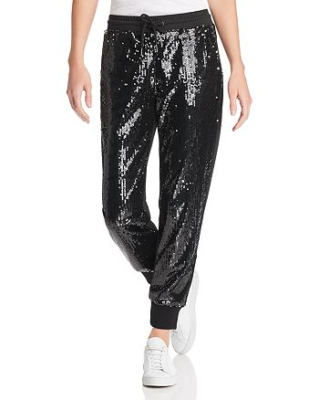 Sunset & Spring - Sequin Jogger Pants - 100% Exclusive