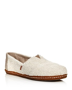 TOMS - Women's Classic Slip On in Shearling