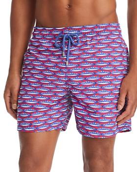 5bc2e29ff3 Vilebrequin - Moorea Marbella Fish-Print Swim Shorts ...