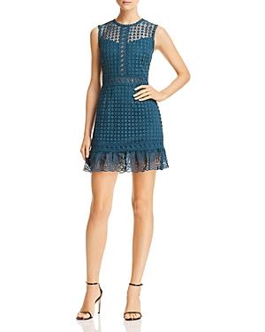 Aqua Mini Rose Lace Dress - 100% Exclusive
