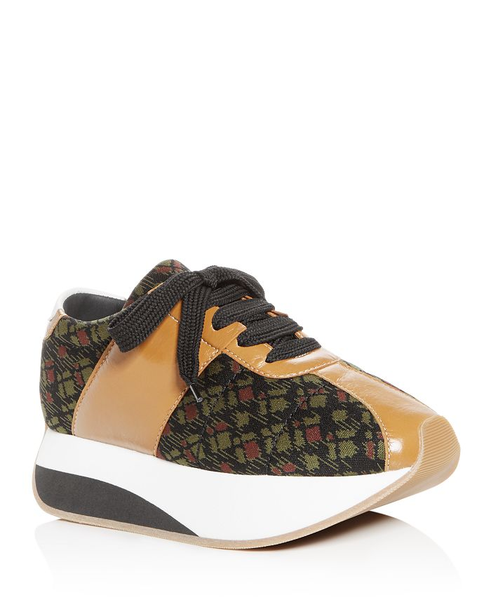 ccfc1d65136 Marni - Women s Lace-Up Platform Sneakers