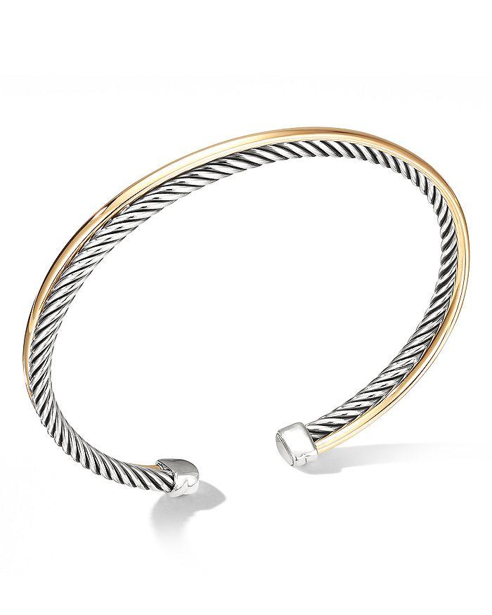 David Yurman - Crossover Bracelet with 18K Gold