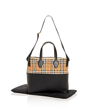 Burberry - Kingswood Achly Vintage Check Diaper Bag