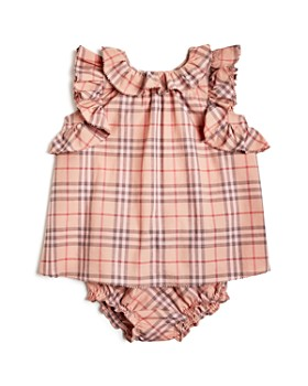 775ea8a4b7821 Burberry - Girls  Carla Ruffle Check Dress   Bloomers Set - Baby ...