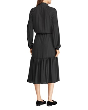 Ralph Lauren - Pindot Peasant Dress