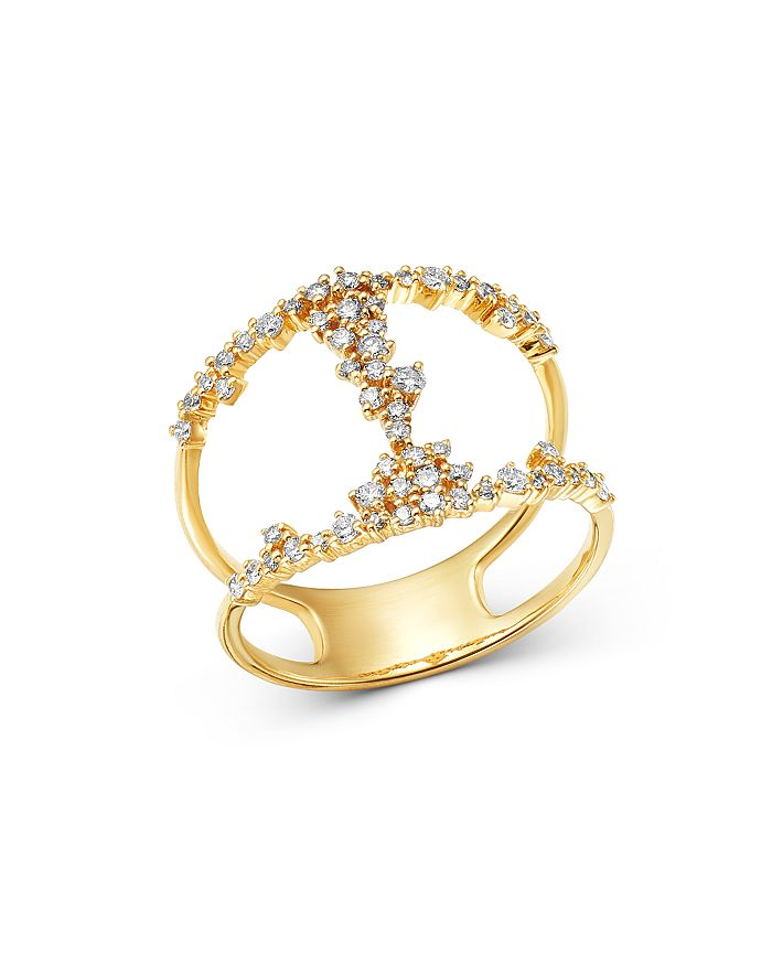 Bloomingdale's - Diamond Scatter Ring in 14K Yellow Gold, 0.50 ct. t.w. - 100% Exclusive