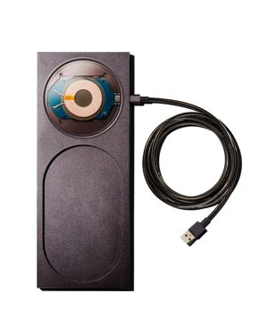 NATIVE UNION X Tom Dixon Block Wireless Station in Black