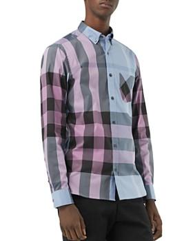 Burberry - Thornaby Check-Print Regular Fit Button-Down Shirt