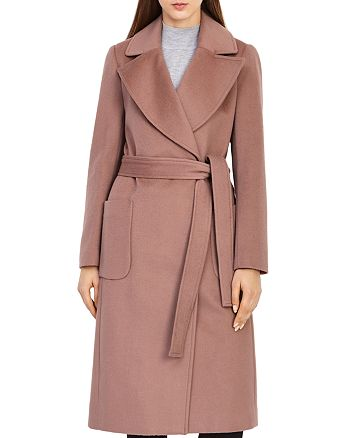 REISS - Faris Belted Wool Coat