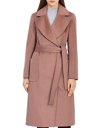 REISS - Faris Belted Wool Coat
