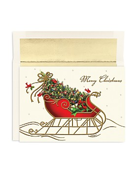 Masterpiece - Studios Holiday Sleigh Holiday Cards, Box of 16